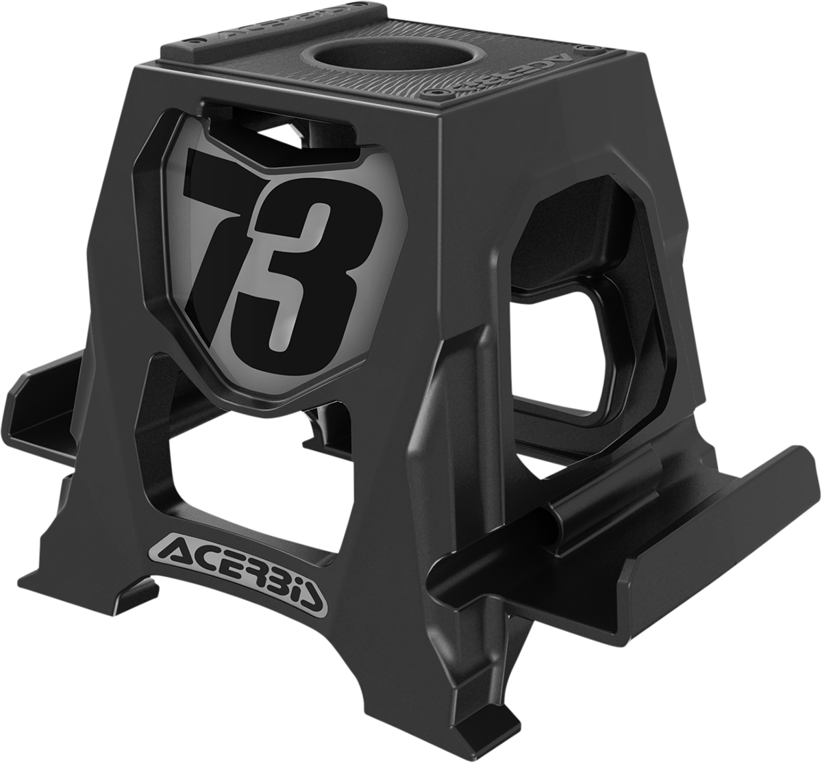 Acerbis Black Universal Cell Phone Table Dirbike Stand Holder