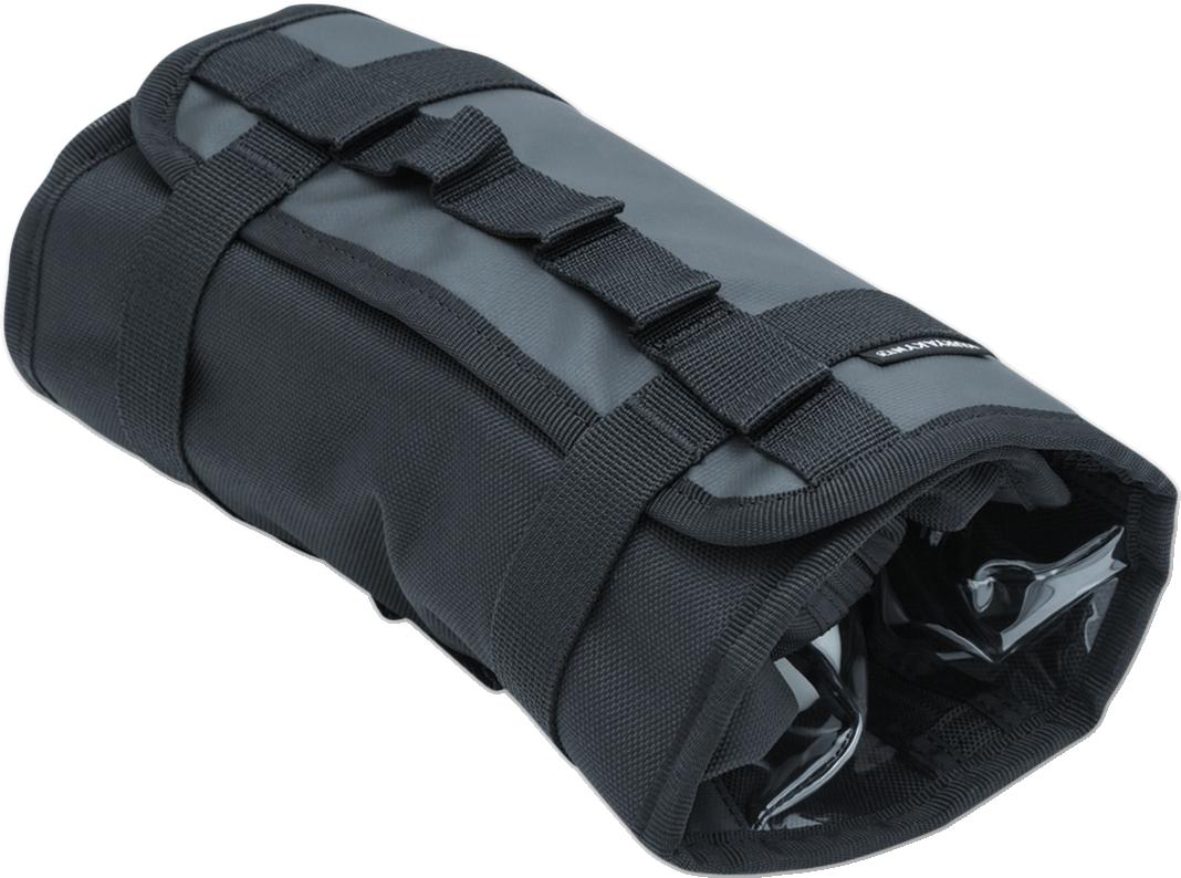 Kuryakyn 5259 Denier Nylon Black Travel Accessory Bag for Harley Davidson