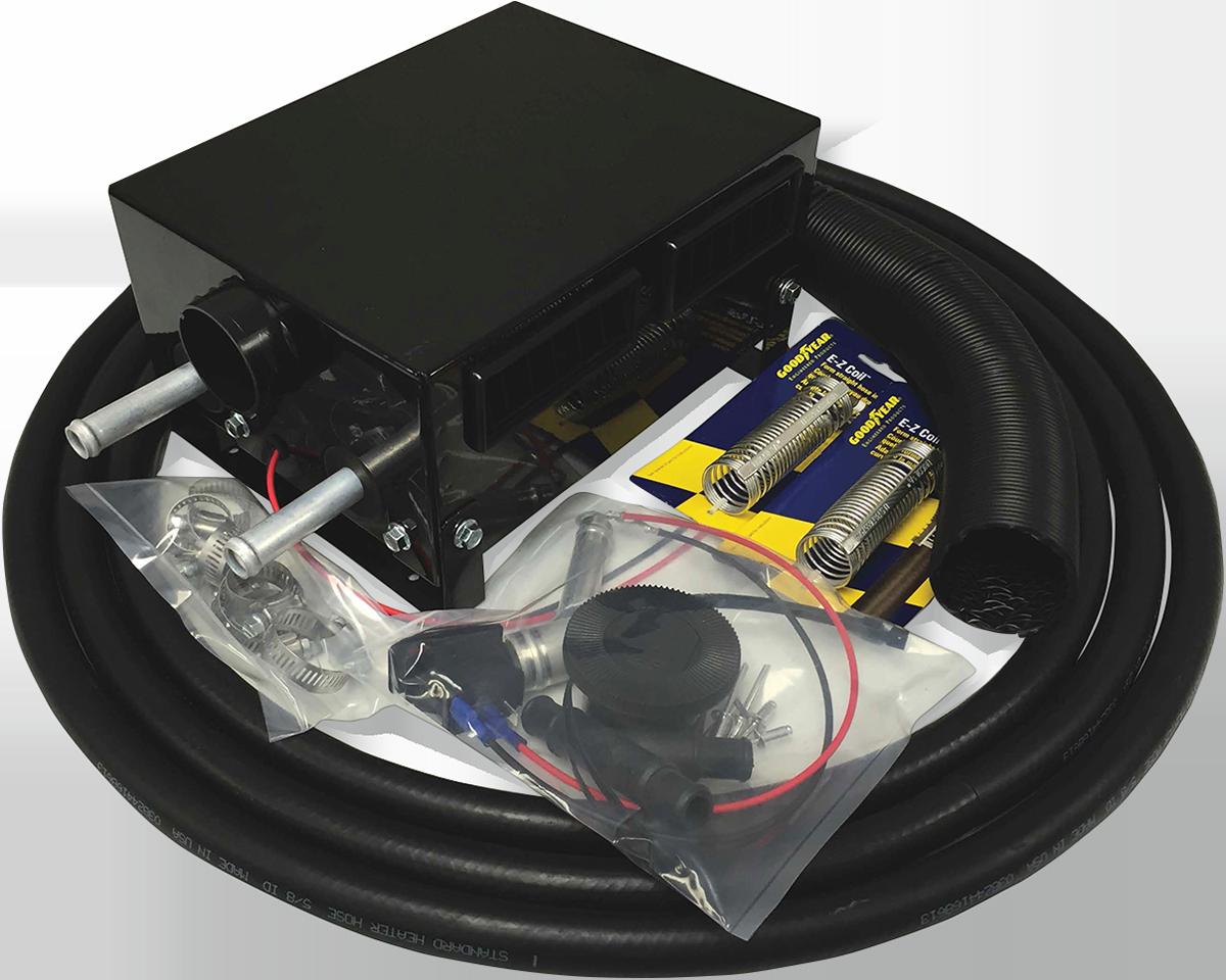 Moose Utility Utv Side by Side Black Cab Heater for 2016 Cam-Am Defender 1000R