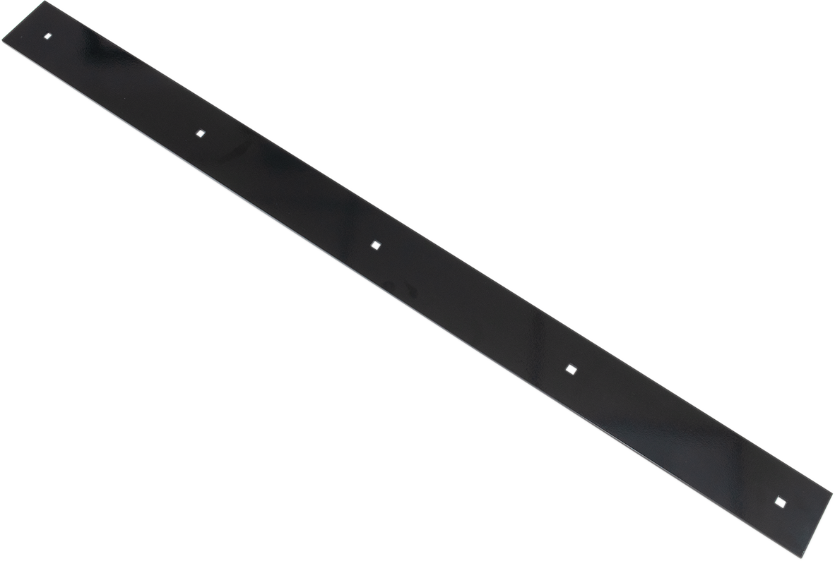 "Moose Utility Matte Black ATV UTV Steel 50"" Snow Plow Wear Bar for County Plows"
