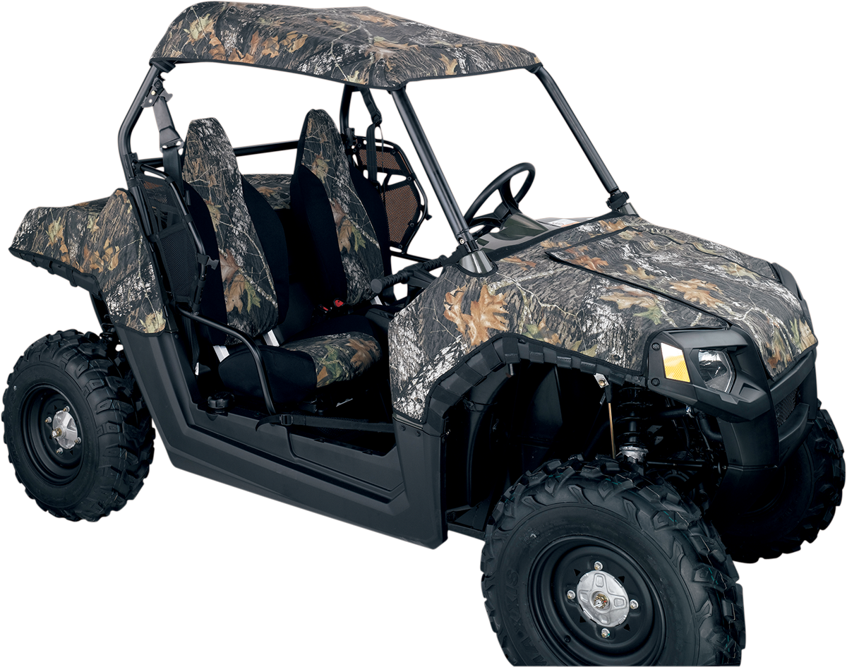 Moose Camouflage Nylong UTV Side by Side Roof Cap for 08-14 Polaris RZR 800 4x4