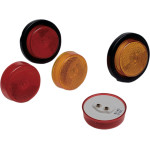 ROUND MARKER AND CLEARANCE LIGHTS FOR TRAILERS