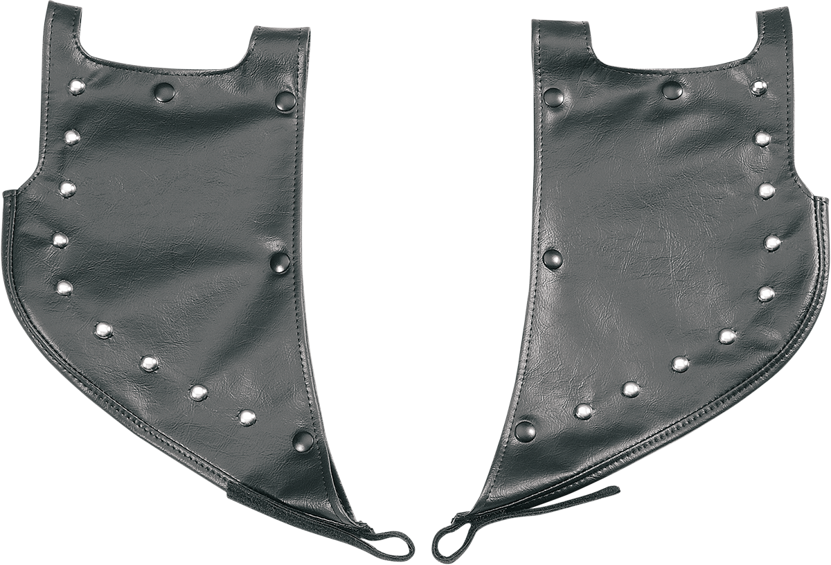 Drag Specialties Studded Lower Highway Bar Rain Guards 01-16 Harley Softail