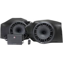 400-WATT AMP/TWO-SPEAKER AUDIO SYSTEM
