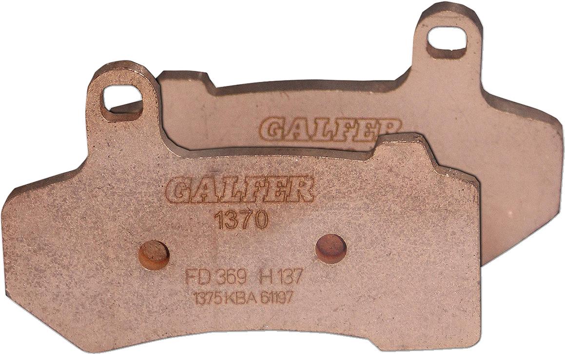 Galfer Ceramic Front or Rear Brake Pads 08-19 Harley Touring FLHR FLHX FLTR
