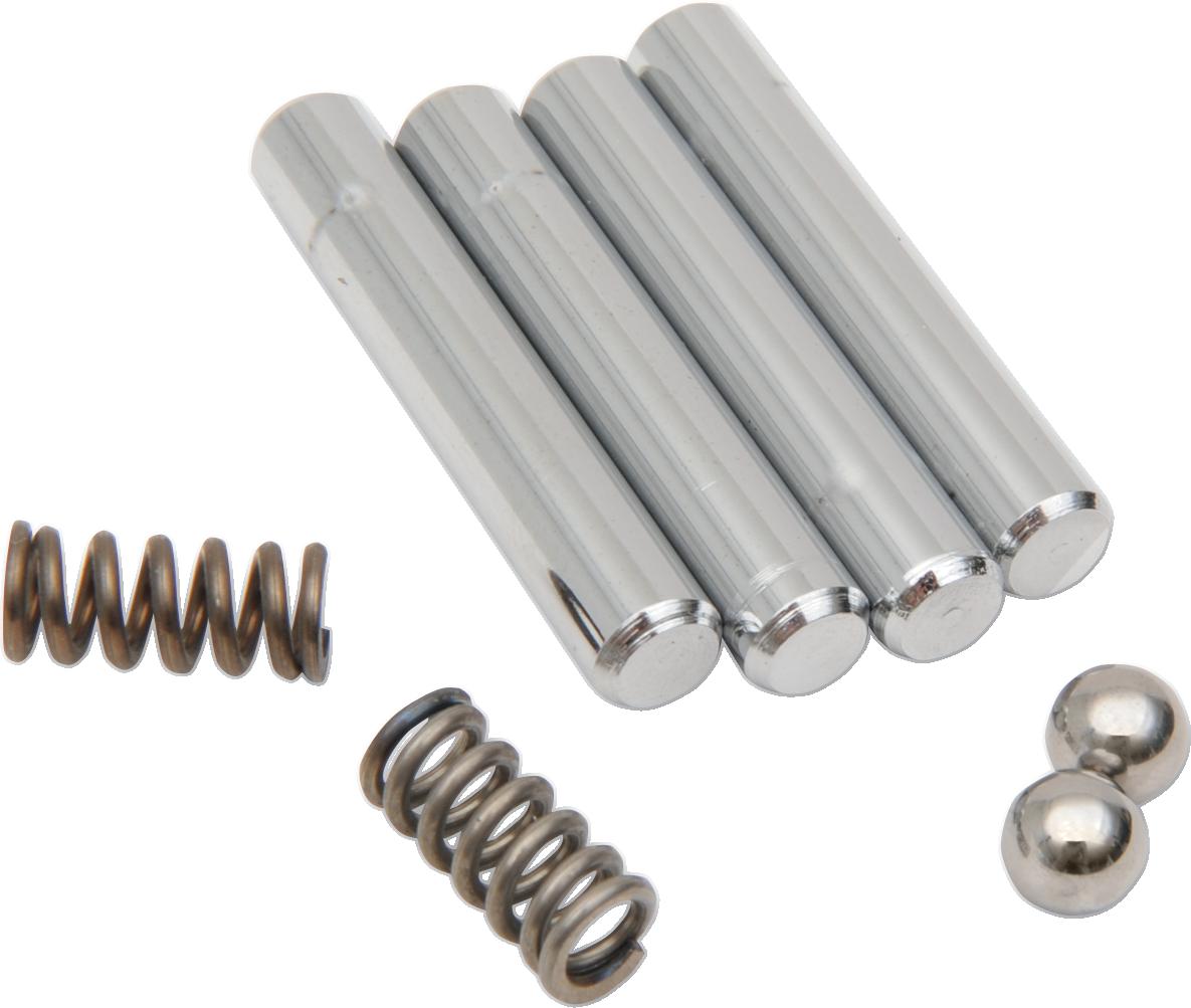 Drag Specialties Passenger Floorboard Pivot Pin Kit for 86-19 Harley Touring FLS