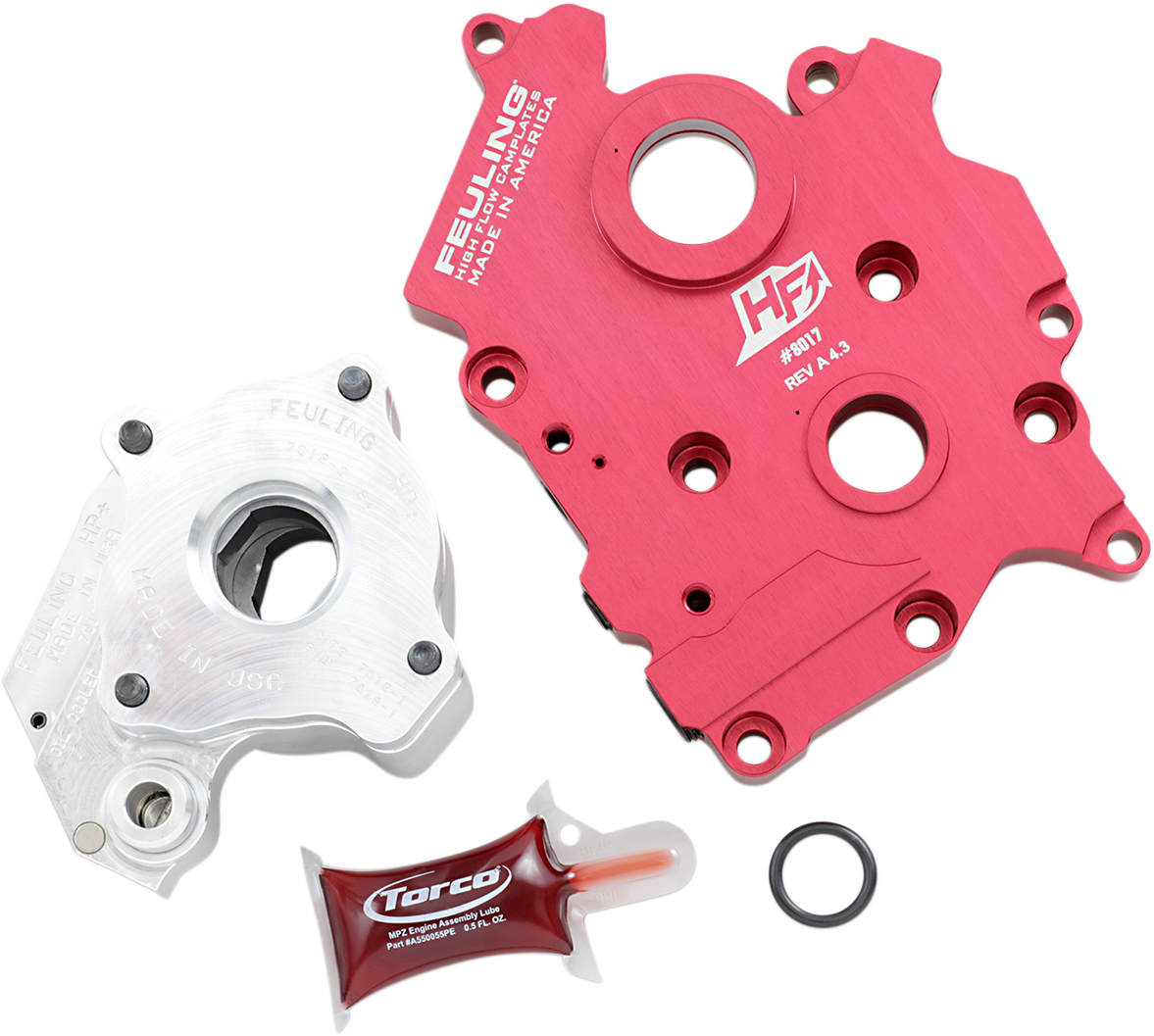 Feuling HP+ High Volume Oil Pump & Cam Plate Kit 17-20 Harley Touring FLHX FLTRX