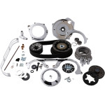 "2"" OPEN BELT DRIVE KITS WITH 2-PIECE MOTOR PLATE"
