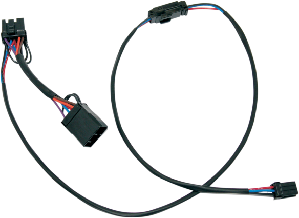 Namz Tour Pak Quick Disconnect Wiring Harness 96-13 Harley Touring FLHTC FLHTCU