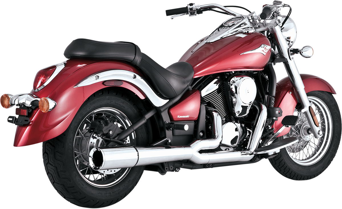 Vance & Hines 2-1 Chrome Pro Pipe Exhaust for 06-15 Kawasaki VN900 Vulcan