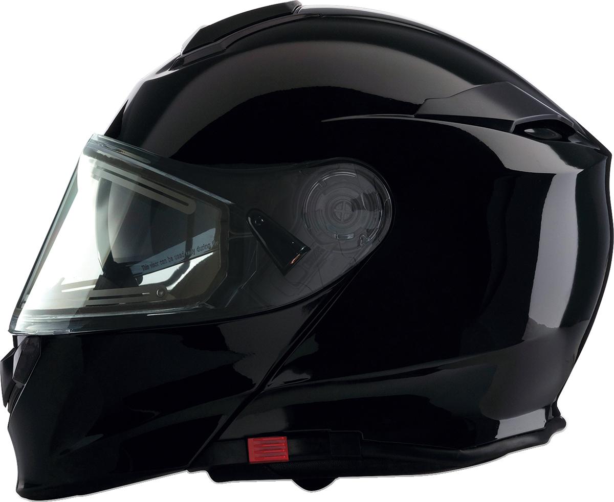 Z1R Unisex Solaris Full Face Snowmobile Riding Electric Shield Modular Helmet