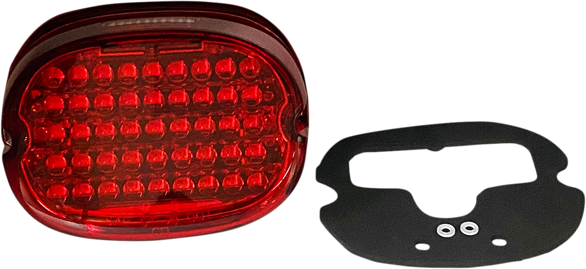 Custom Dynamics Red Top Window LED Taillight Kit 99-20 Harley Touring Softail