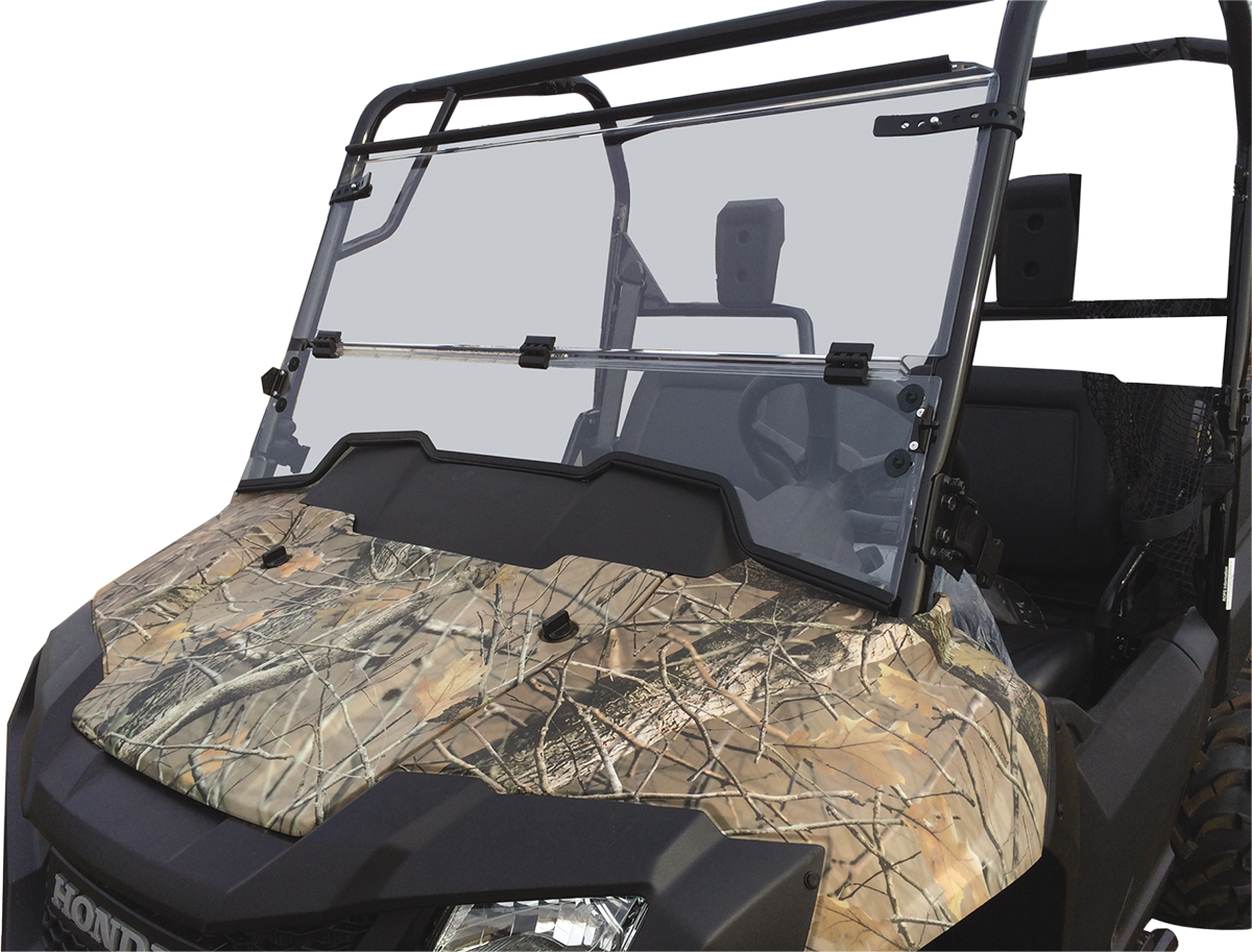 Moose UTV Full Folding Clear Windshield for 14-19 Honda Pioneer 700 700-4
