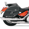 RIGID-MOUNT SPECIFIC-FIT TEARDROP SADDLEBAGS