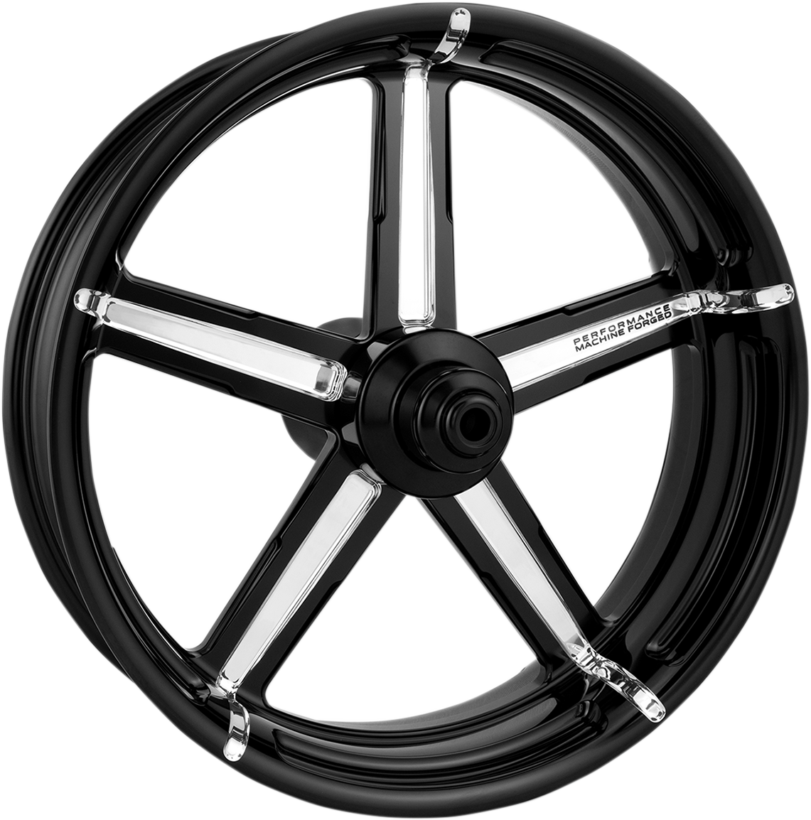 "Performance Machine Formula 18"" ABS Rear Wheel 09-19 Harley Touring FLHX FLHR"