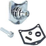 SOLENOID END COVER/STARTER BUTTONS