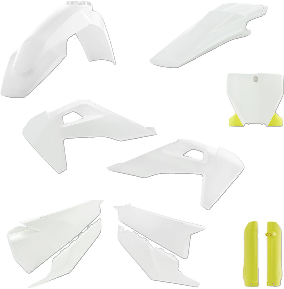 Acerbis Full Plastic Kit WHITE 19 HUSQVARNA FC450HQ