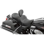 FORWARD-POSITIONING LOW-PROFILE DOUBLE BUCKET SEATS WITH EZ GLIDE I™ BACKREST SYSTEM