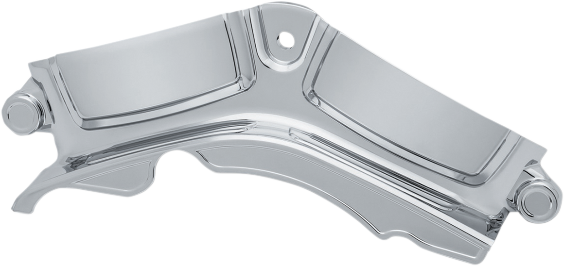 Kuryakyn 6411 Chrome Engine Cylinder Base Cover for 17-18 Harley Touring FLHX