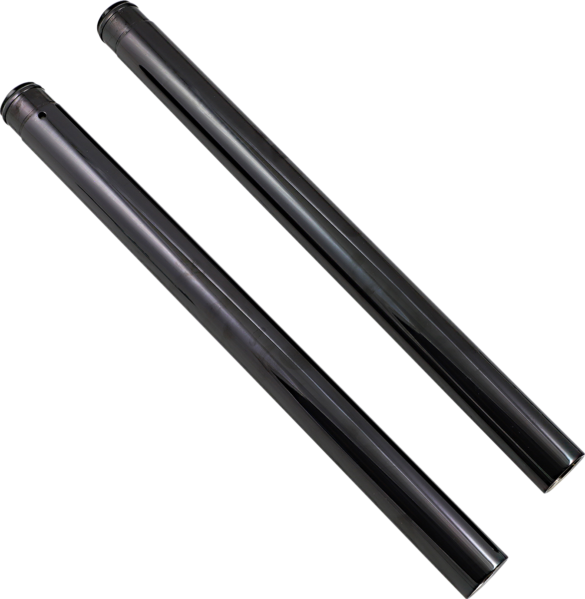 Custom Cycle Black 41mm Front Fork Tubes 99-13 Harley Dyna Touring Softail CVO