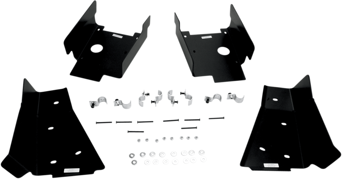 Moose Racing Side by Side Front & Rear A-Arm Guards for 08-09 Polaris RZR 800 LE