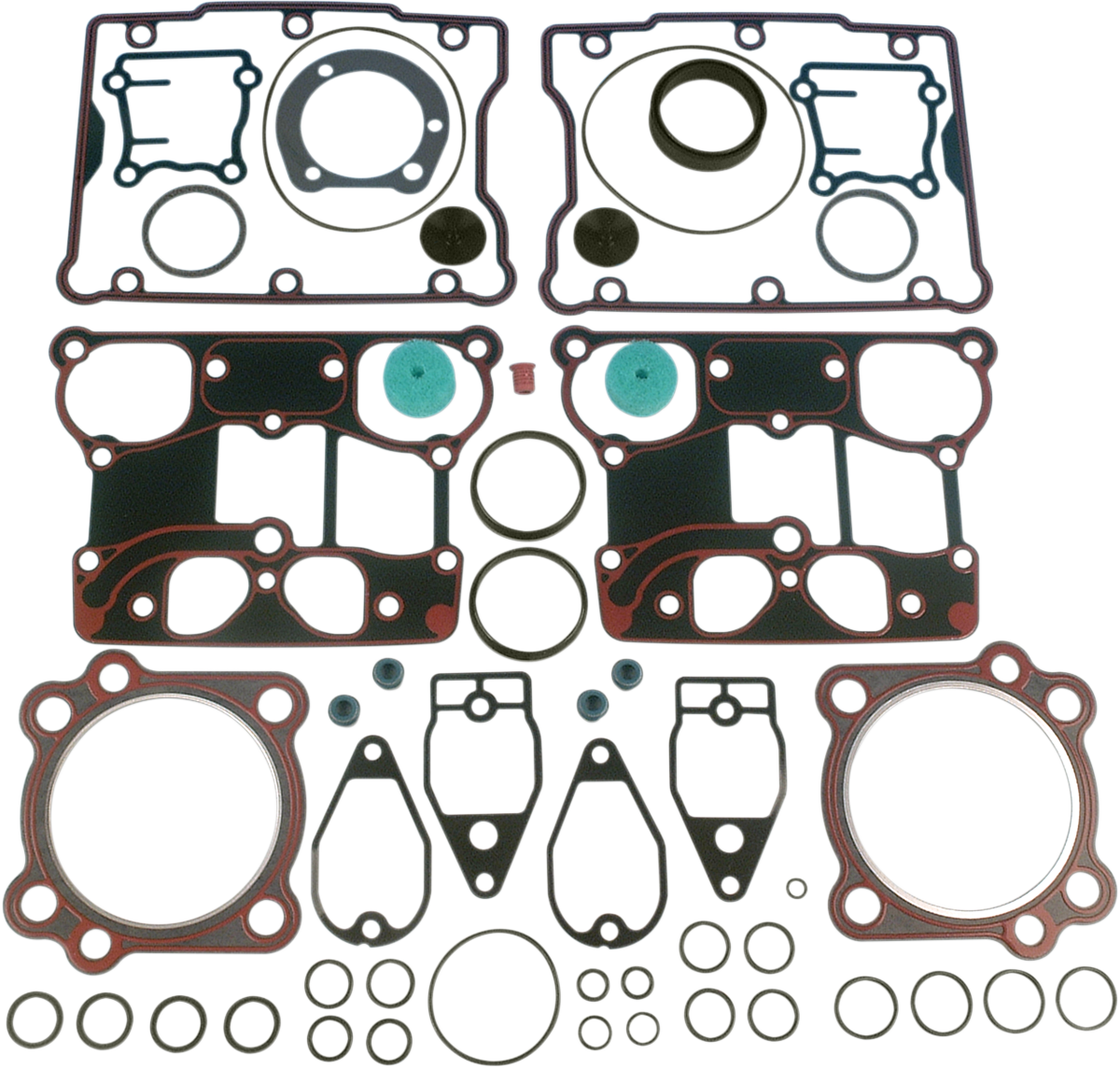 """James Gasket .45"""" Top End Gasket Kit for 99-16 Harley Touring Dyna Softail"""