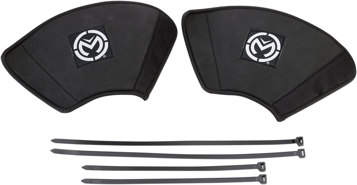 Moose Racing Black Neoprene UTV ATV Offroad Pair CV Boot Protectors