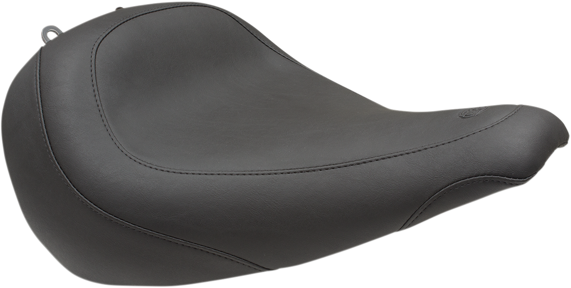 Mustang Tripper Wide Motorcycle Solo Seat 18-19 Harley Softail Fat Boy FLFB