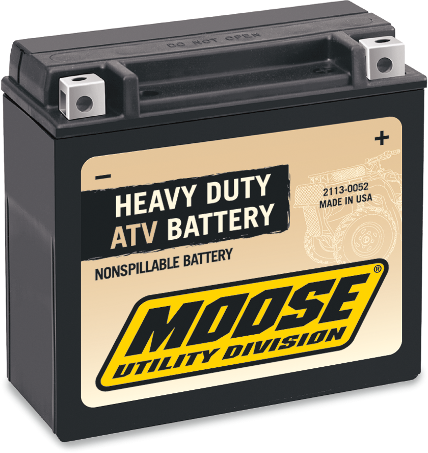 Moose Heavy Duty YTX20HL Maintenance Free Battery for 96-17 Can-Am Kawasaki