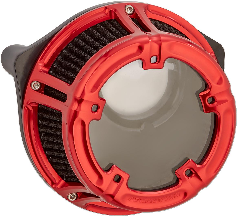 Arlen Ness Red Method Air Filter Kit for 09-17 Harley Softail Touring FLTRX FLHX