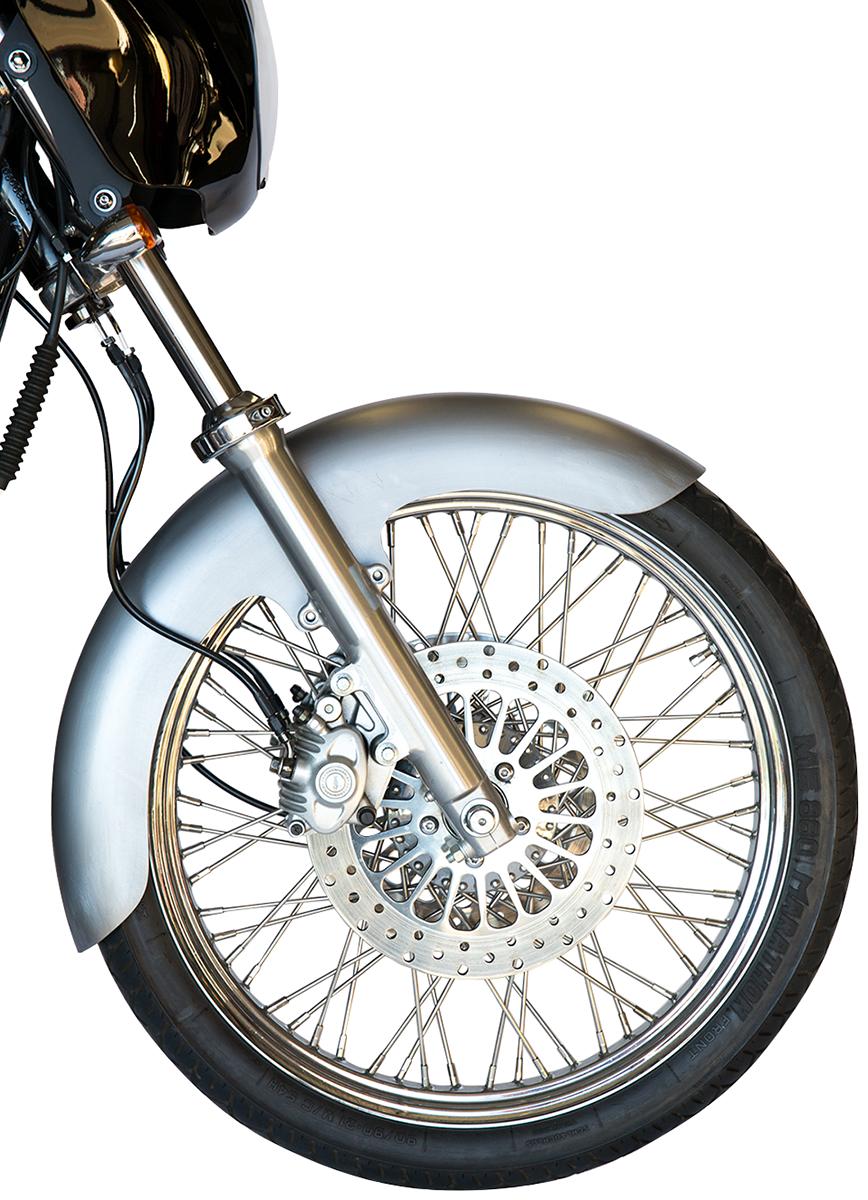 "Russ Wernimont 21"" Front Steel Tire Fender for 84-05 Harley Davidson Dyna FXR"
