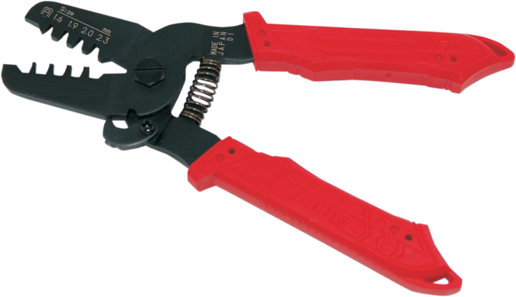 Namz Black Red Barrel Mini Universal JAE Delphi Wire Crimp Tool Harley Davidson