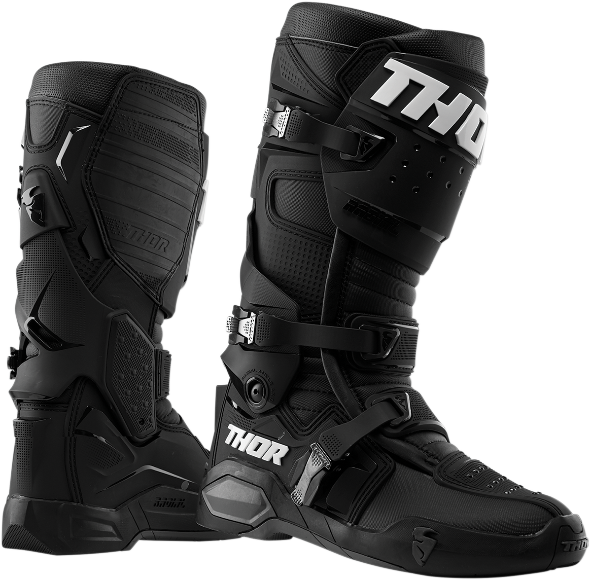 Thor Mens Pair Radial Off road Riding Dirt Bike Motocross MX Racing Boots