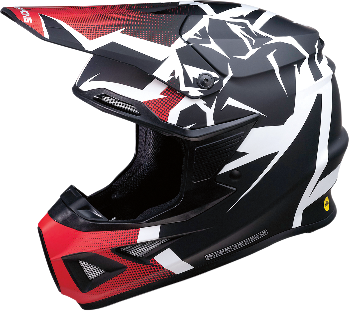 Moose Racing Agroid F.I MIPS Offroad Racing Dirt Bike ATV Riding Fullface Helmet