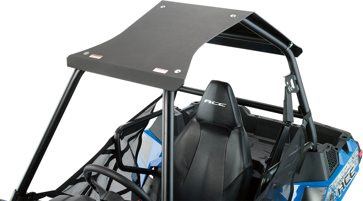 Moose Utility UTV Side by Side Black Roof for 14-18 Polaris Ace 500 4x4 570 900