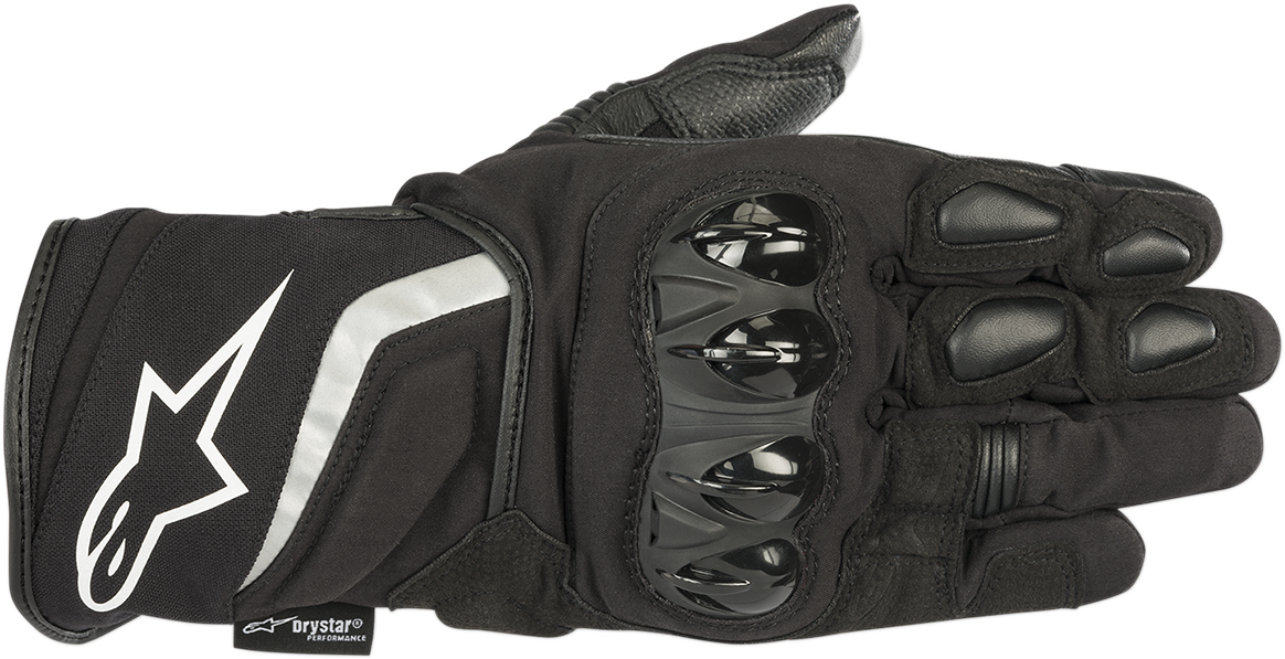 Alpinestars Black TSP Textile Mens Motorcycle Riding Street Racing Road Gloves