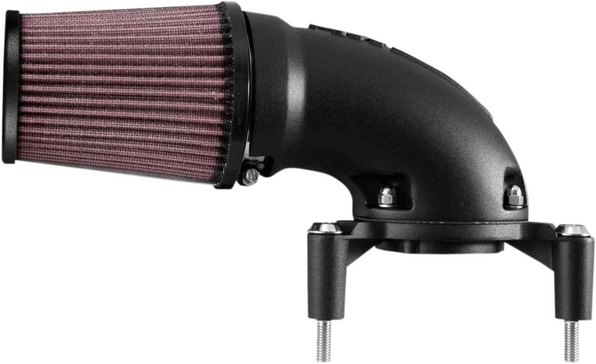 K&N Black Aircharger Air Filter Cleaner Intake 01-17 Harley Dyna Touring FLHX