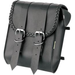 BRAIDED SISSY BAR BAG