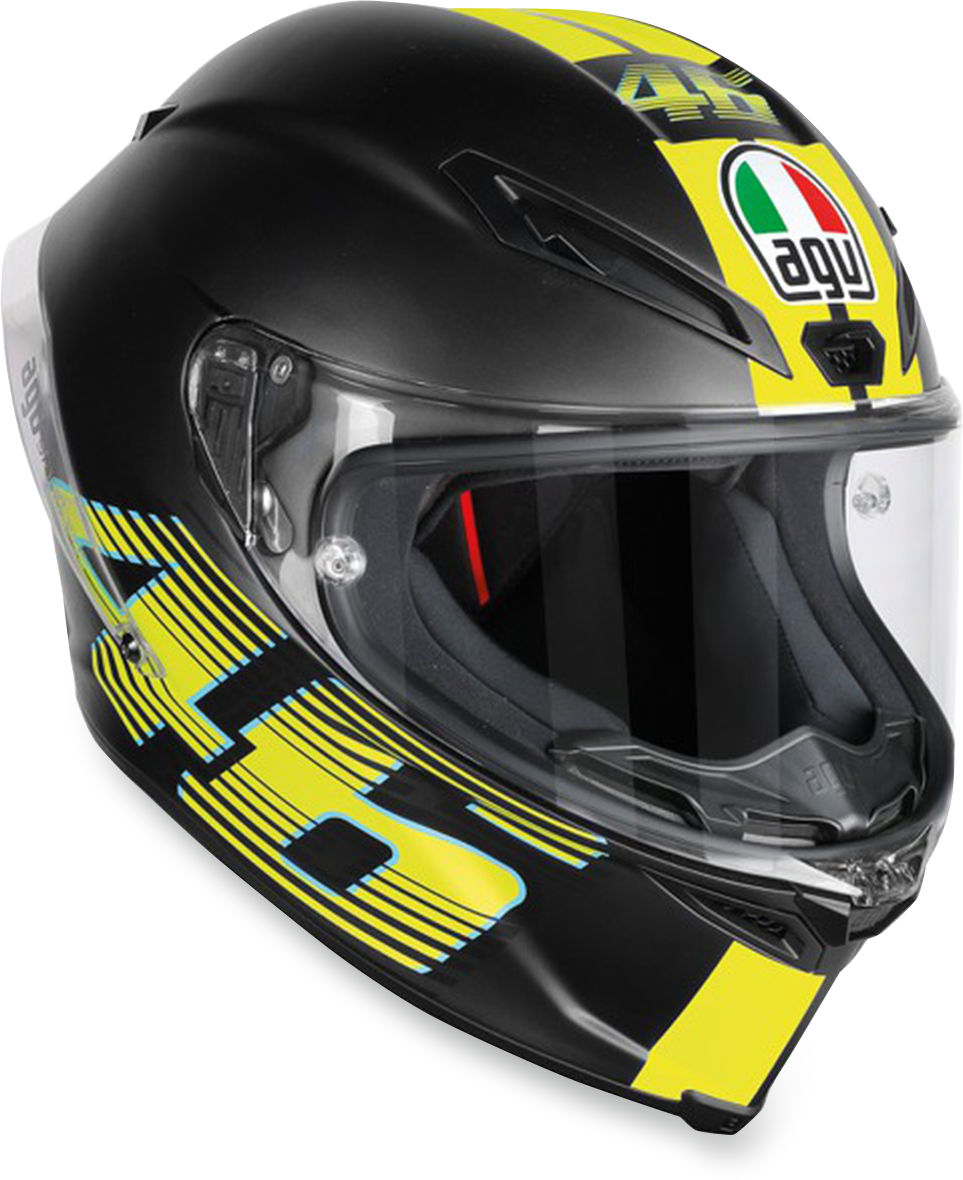 Agv Unisex V46 Corsa R Full Face Motorcycle Riding Street Road Racing Helmet
