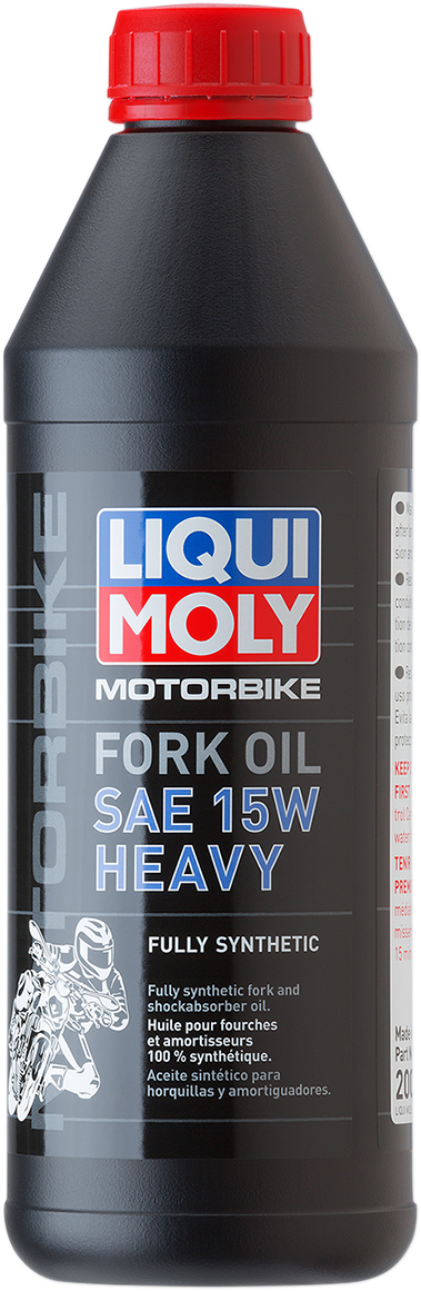 Liqui Moly 1 Liter 15W Heavy Weight Motorcycle Front Fork Oil Fluid for Harley