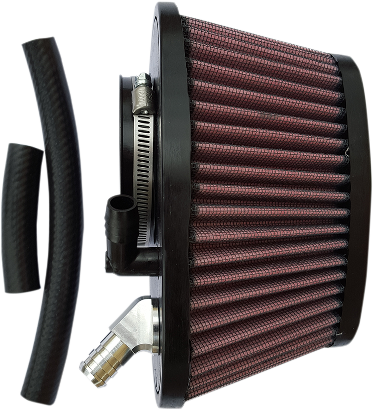 Trask Red Power Flow Gauze Air Filter for 14-18 Indian Scout Bobber Sixty