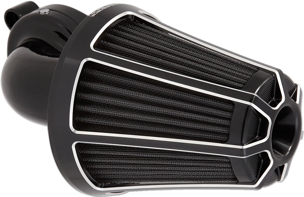 Arlen Ness Beveled Monster Sucker Air Filter Kit for 99-17 Harley Touring FLST