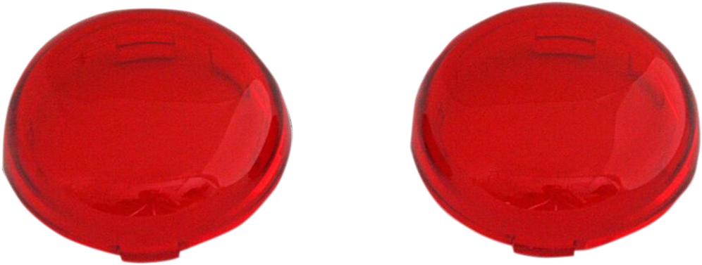 Custom Dynamics Red Probeam Bullet Turn Signal Lens for Harley Davidson