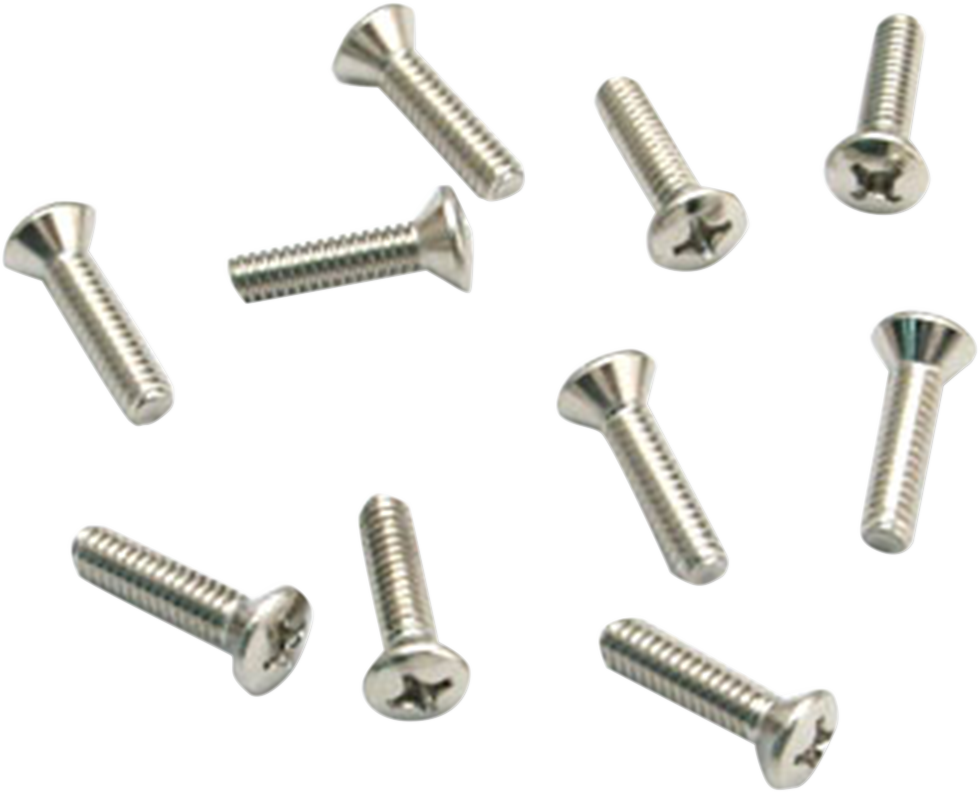 S&S Super E & G Teardrop Motorcycle Air Cleaner Cover Screws for Harley Davidson