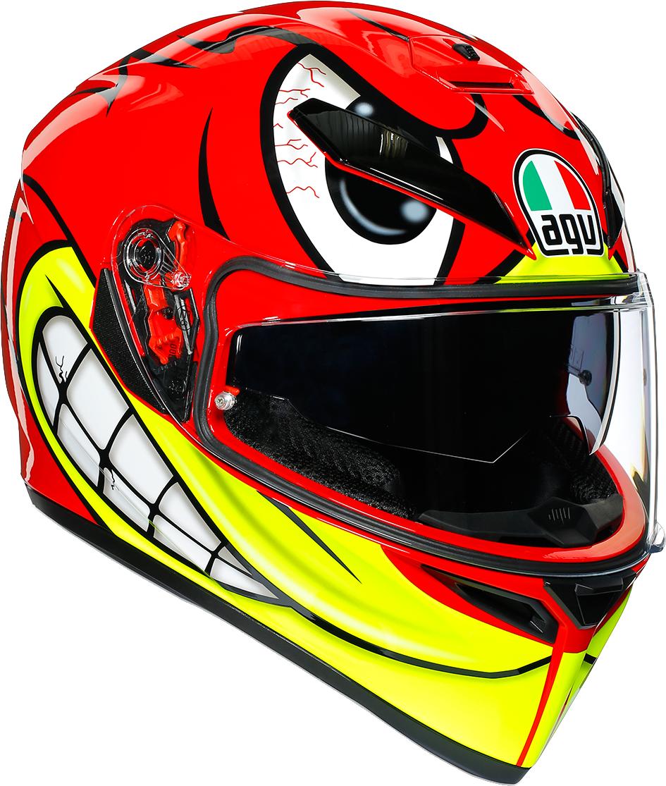 AGV K3 SV Birdy Unisex Adult Motorcycle Riding Street Racing Fullface Helmet