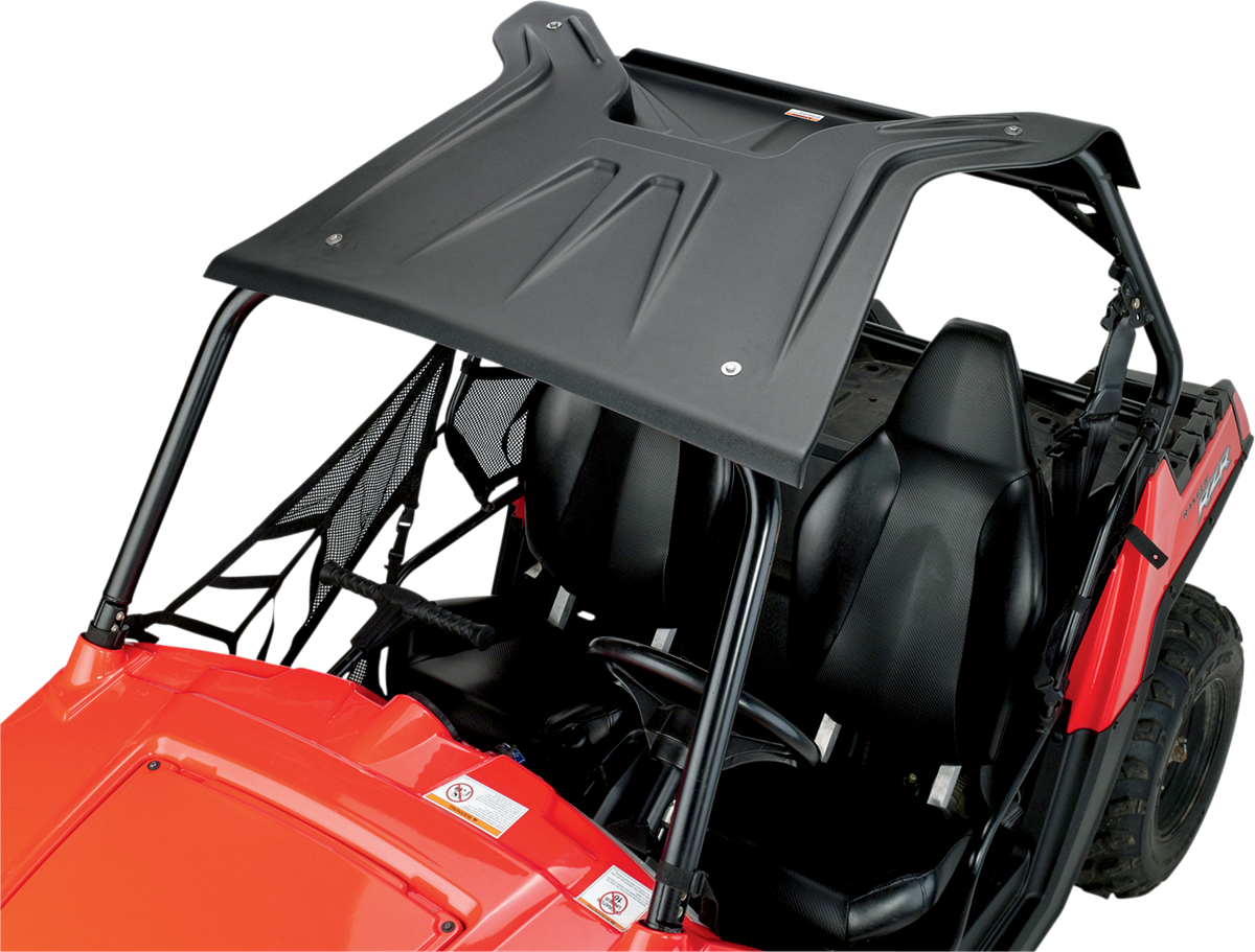 Moose Utility Black 2 Seater Polyethylene Roof for 08-17 Polaris RZR 1000 800