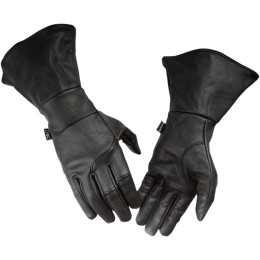 SEIGE GAUNTLET LEATHER GLOVES