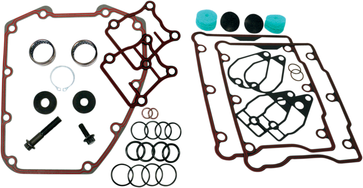 Feuling Chain Drive Camshaft Plus Installation Kit 06-17 Harley Touring Softail