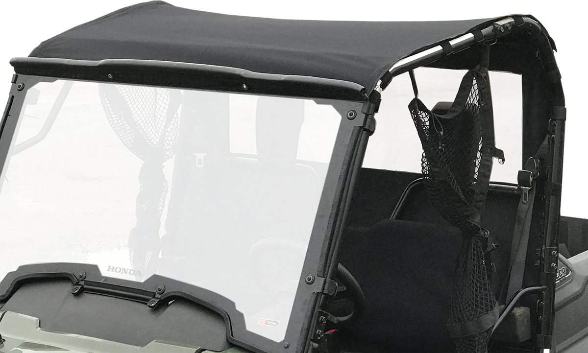 Moose Black Nylon Vinyl UTV Roof Cap for 14-17 Honda Pioneer 700 700-4