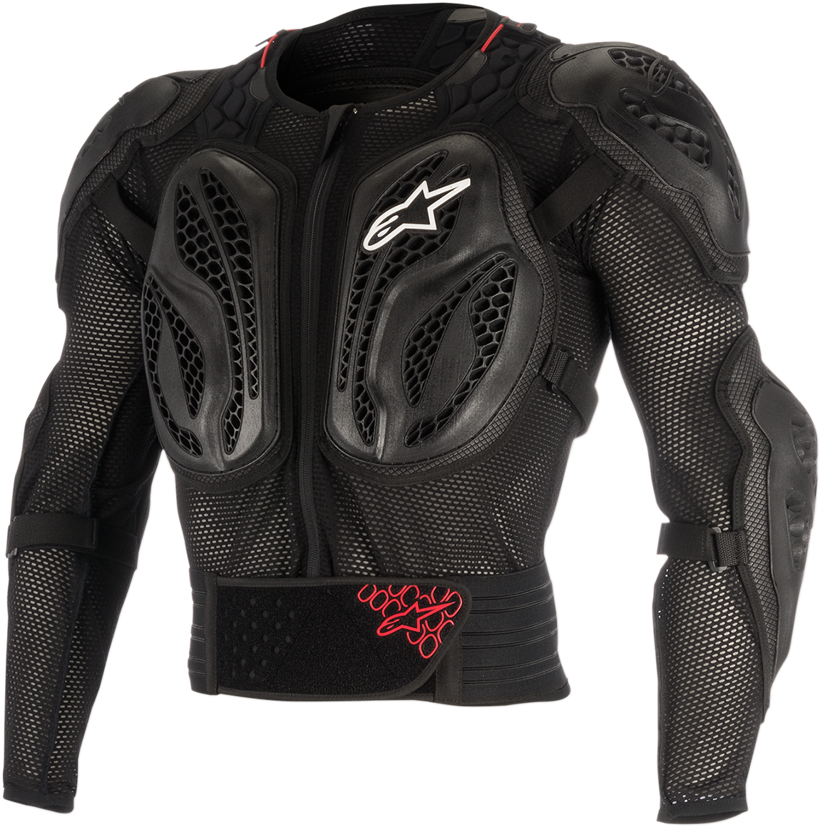 Mens Alpinestars Black Bionic Action Off road Riding Dirt Bike Racing Jacket